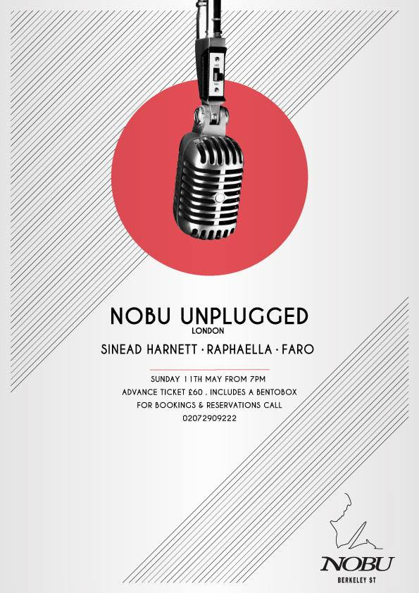 Nobu Unplugged - 11th May
