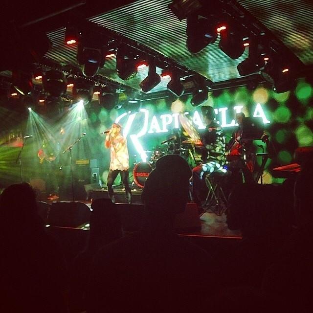 Raphaella performs at Music Week's Industry showcase RADAR