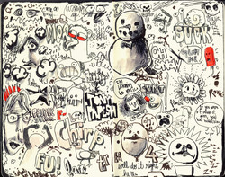 Red Sketchbook page 05
