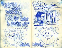 Blue Moleskine page 27