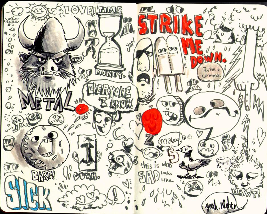 Red Sketchbook page 06