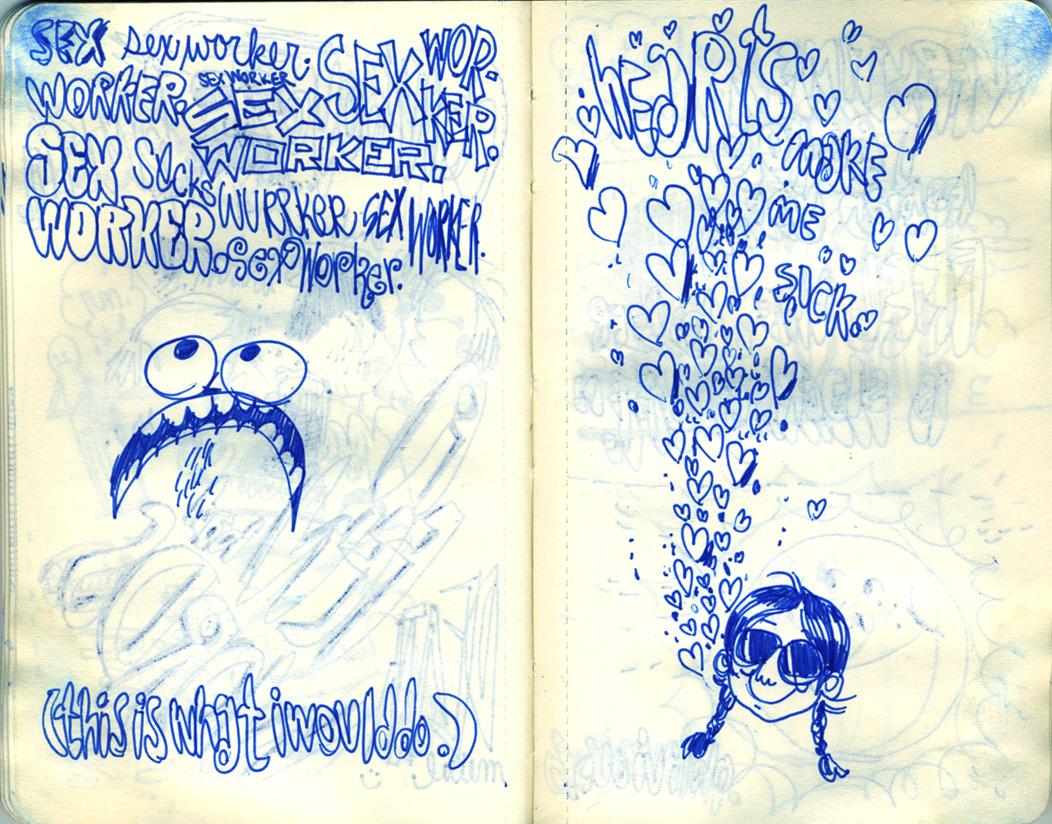 Blue Moleskine page 26