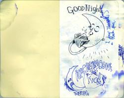 Blue Moleskine page 01