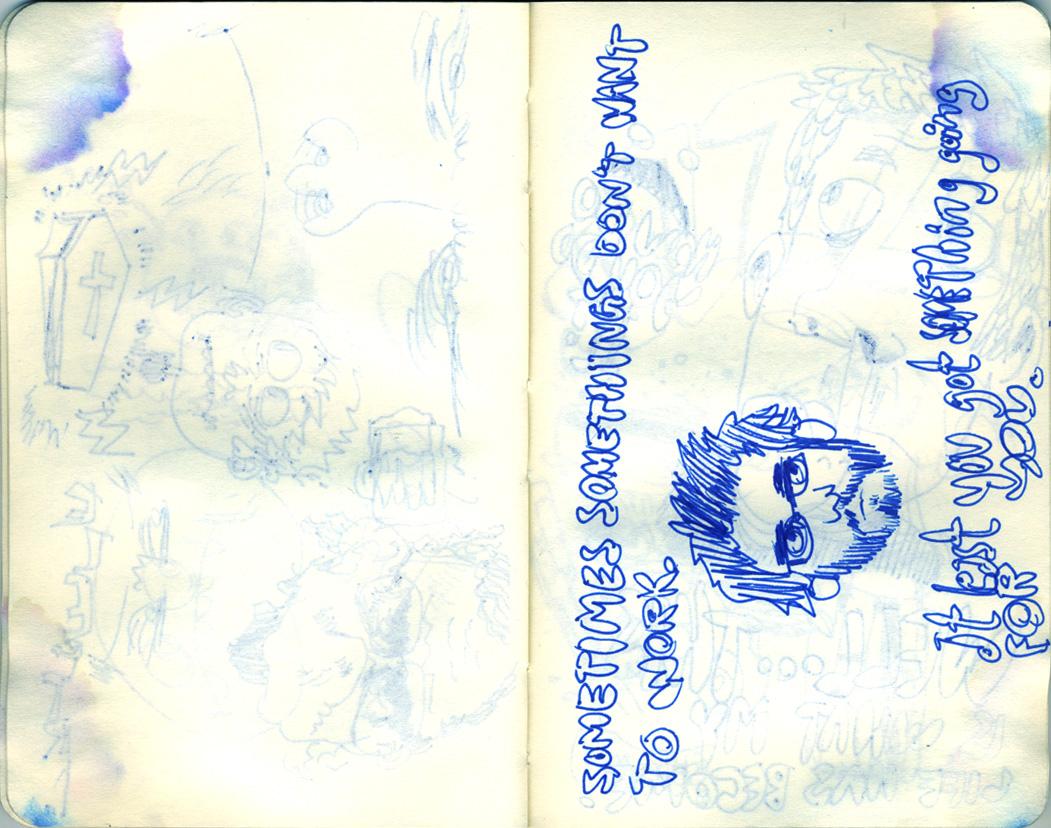Blue Moleskine page 15