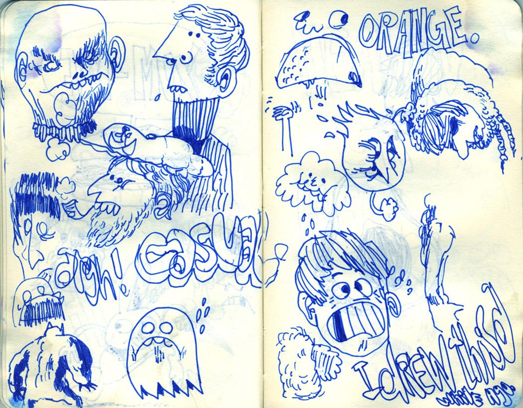 Blue Moleskine page 18