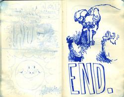Blue Moleskine page 28