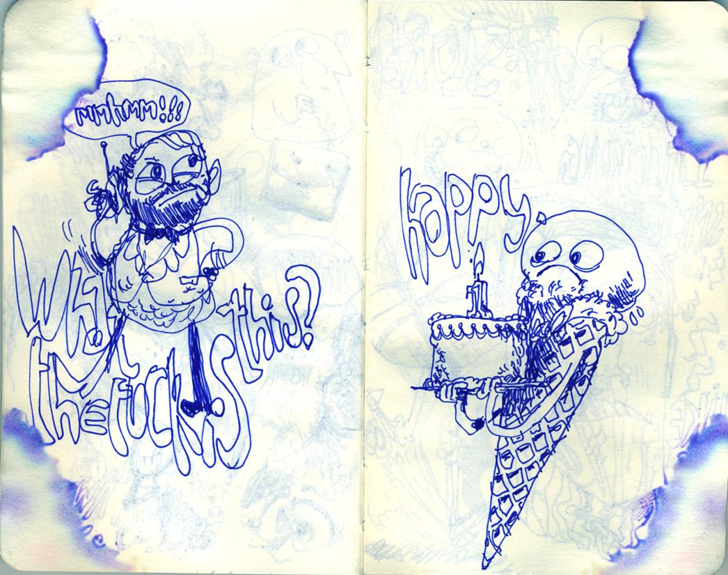 Blue Moleskine page 03