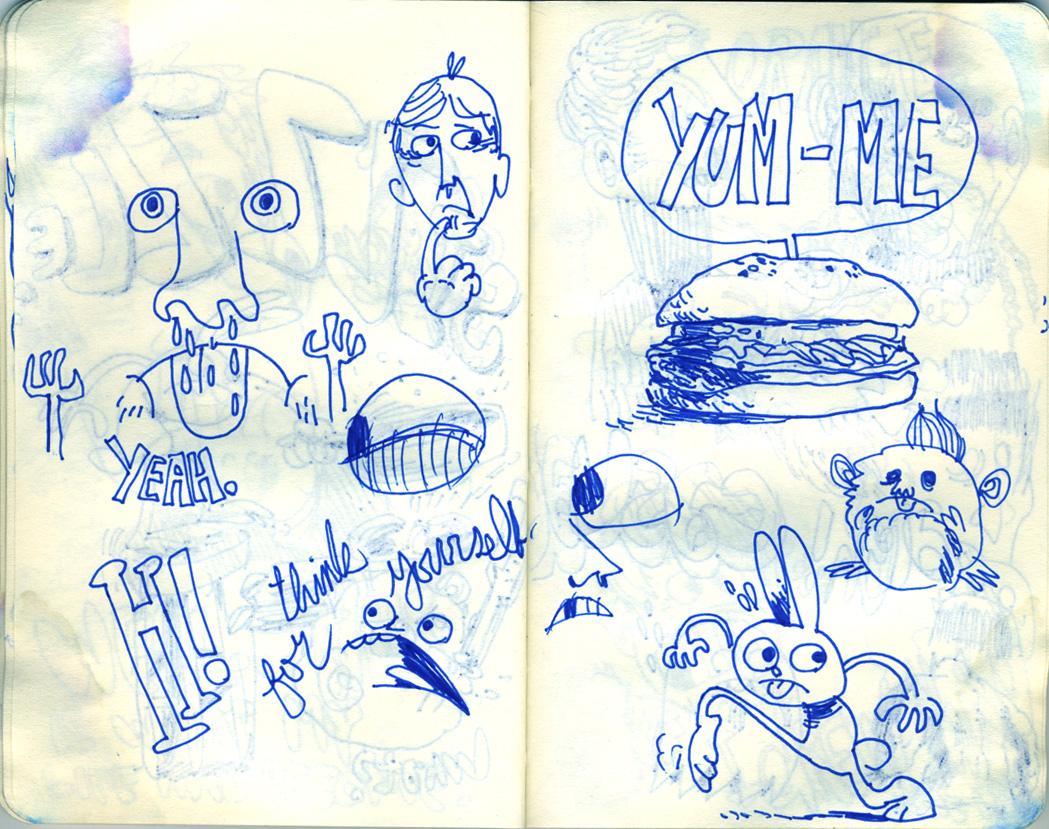 Blue Moleskine page 17