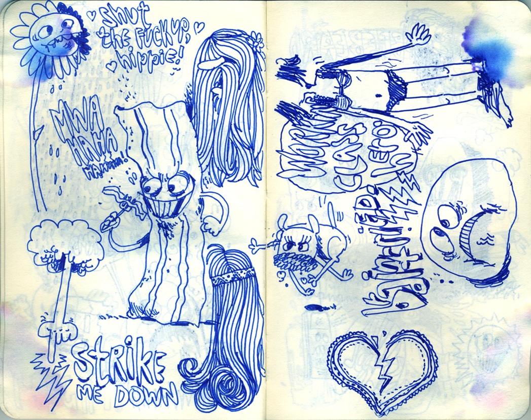 Blue Moleskine page 11