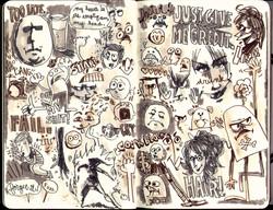 Red Sketchbook page 15
