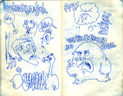 Blue Moleskine page 21