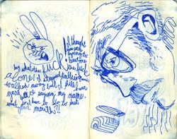 Blue Moleskine page 22