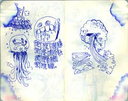 Blue Moleskine page 05