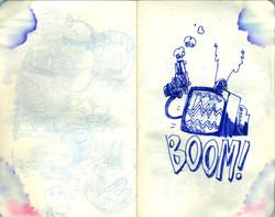 Blue Moleskine page 08