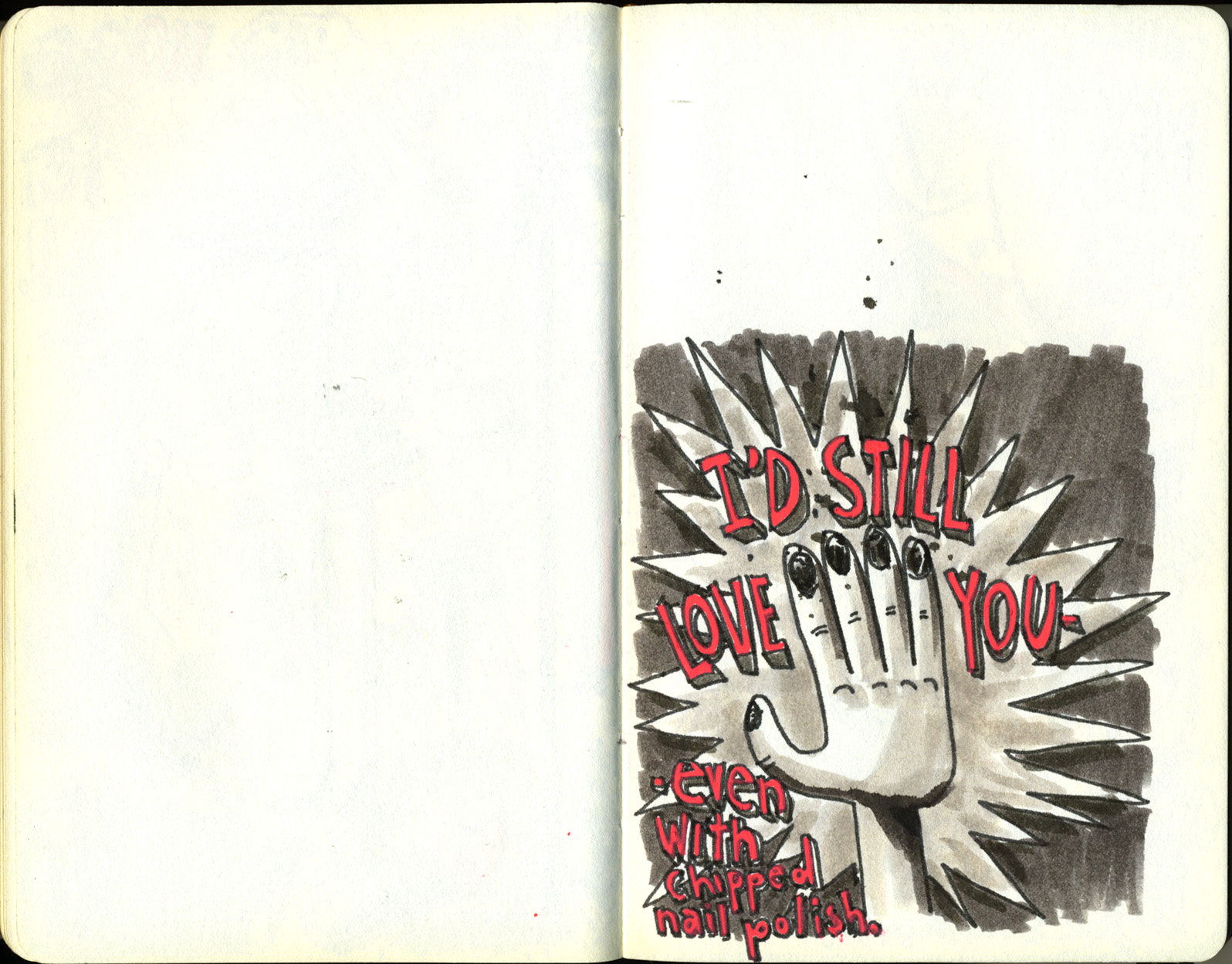 Red Sketchbook page 26