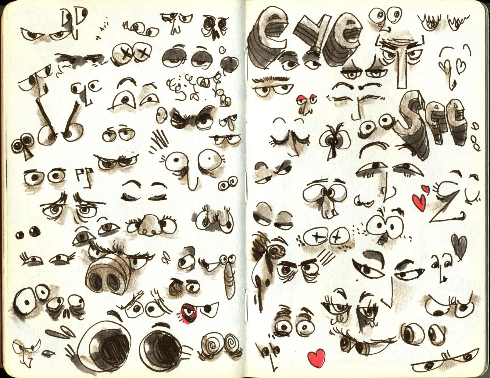 Red Sketchbook page 20