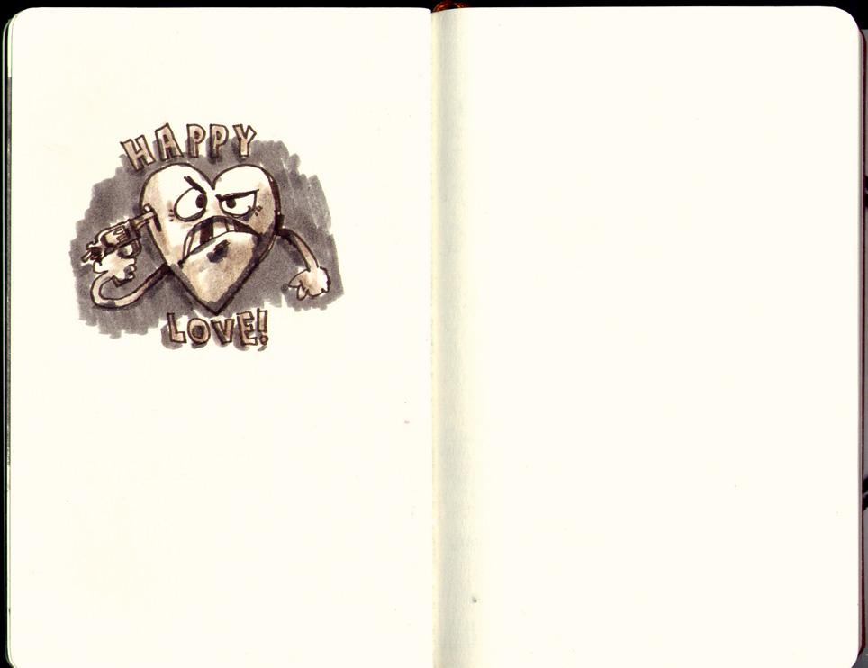 Red Sketchbook page 16