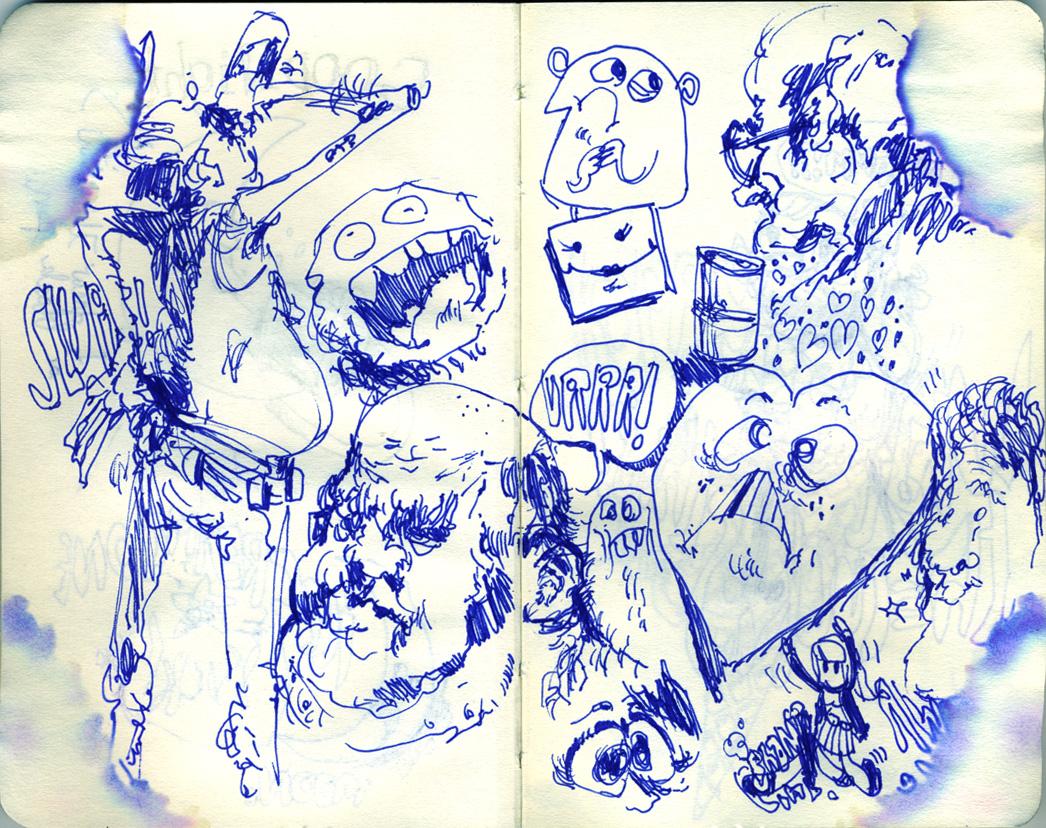 Blue Moleskine page 02