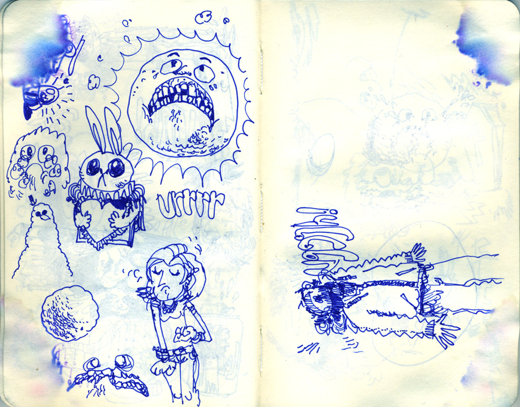 Blue Moleskine page 13