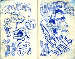 Blue Moleskine page 25