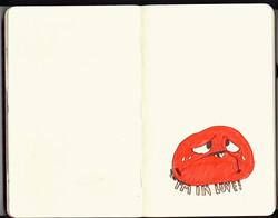 Red Sketchbook page 04
