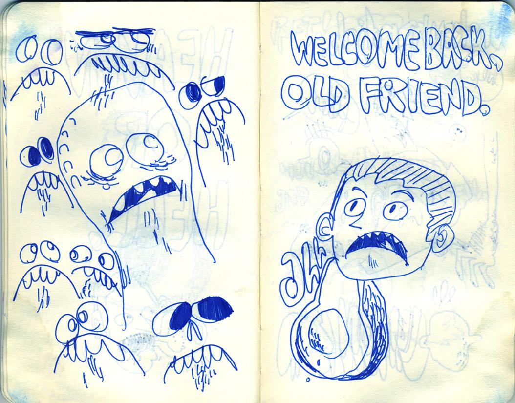 Blue Moleskine page 20
