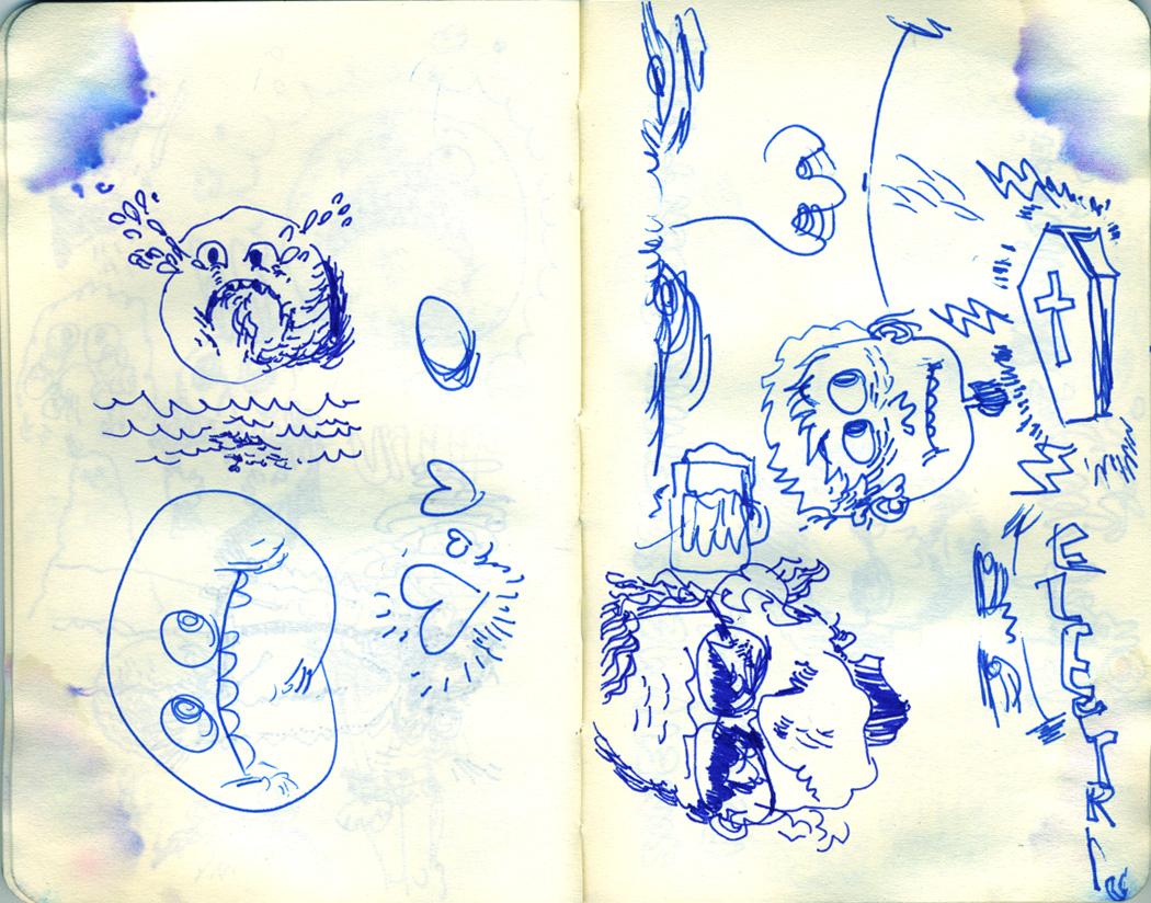 Blue Moleskine page 14