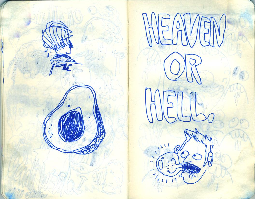 Blue Moleskine page 19