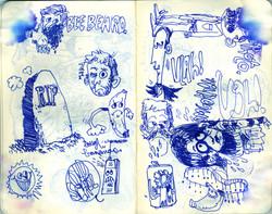 Blue Moleskine page 12