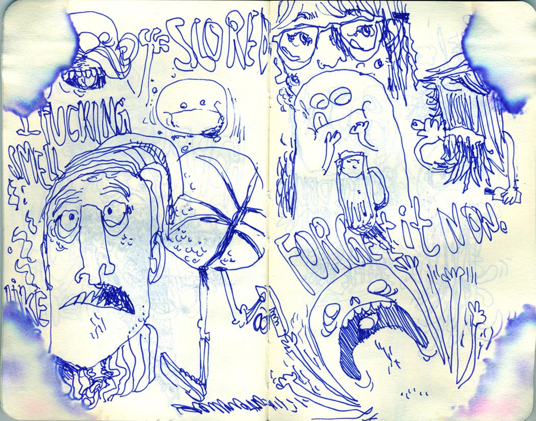 Blue Moleskine page 04