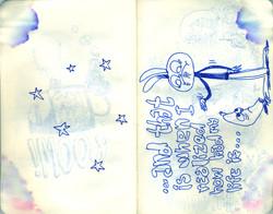 Blue Moleskine page 09