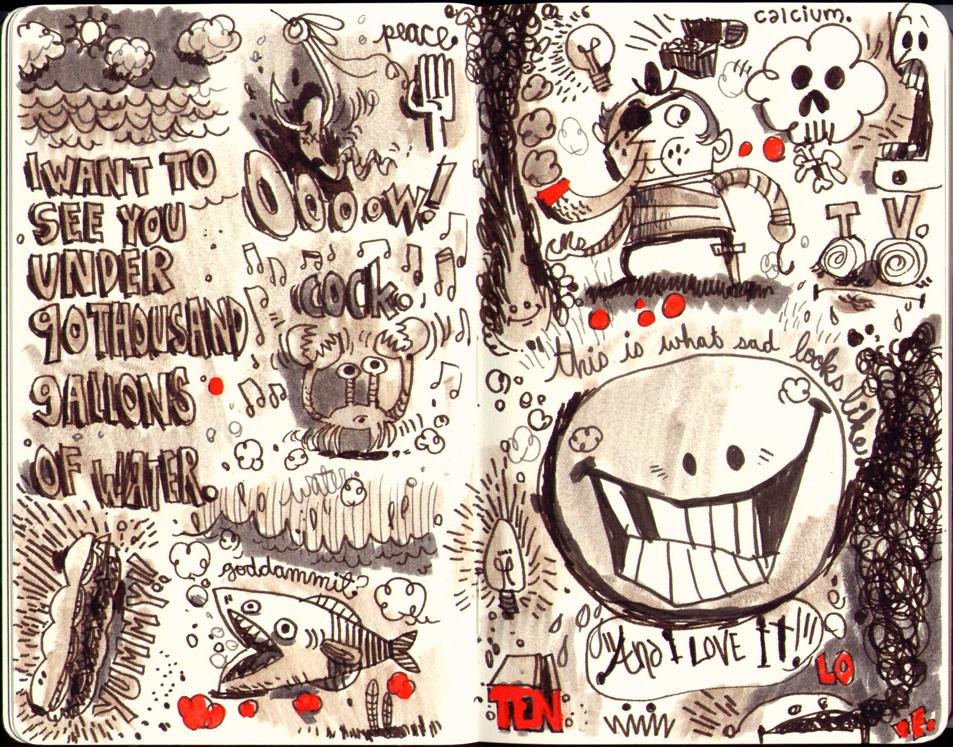 Red Sketchbook page 12