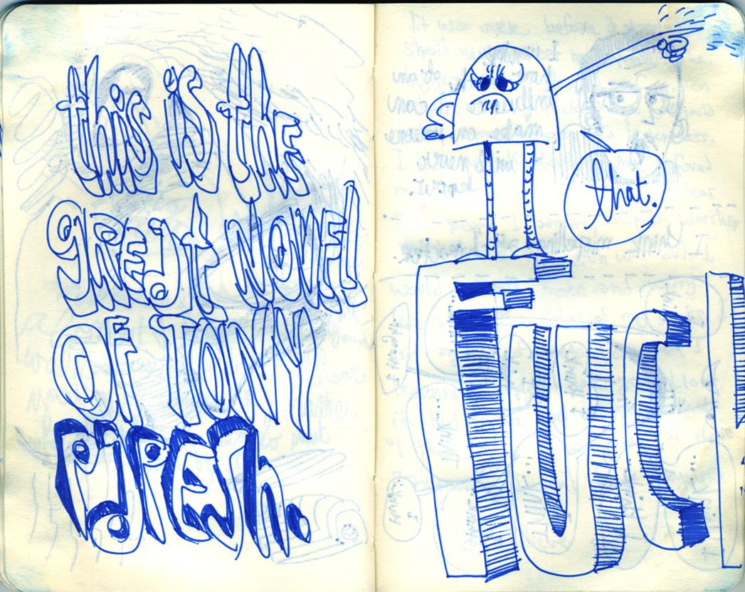 Blue Moleskine page 23