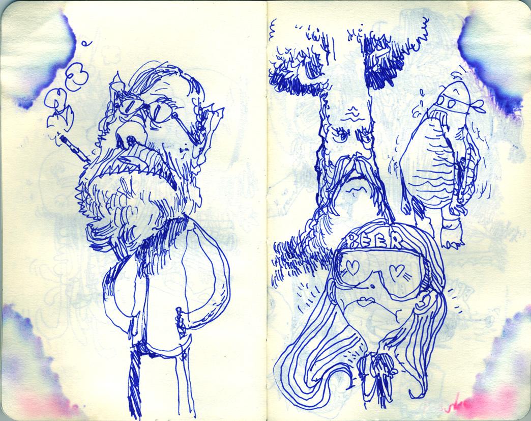Blue Moleskine page 06