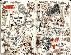 Red Sketchbook page 09