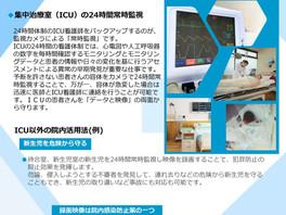 医療現場での監視カメラの活用~ICU看護師の強力なバックアップ~