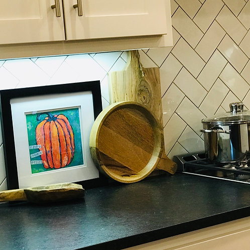 Grateful Thankful Blessed Pumpkin