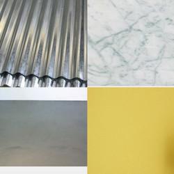 materiali  e colori