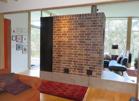Phil & Bianca - Brick 1 door - Gordan - Brick, 1 door, flue - Heavenly Heat Masonry Heater