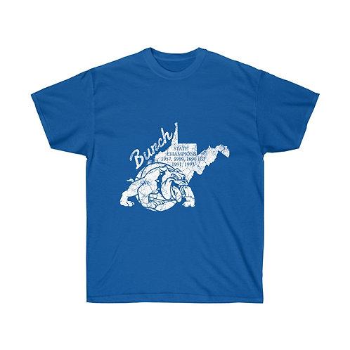 Burch High School Bulldogs - Vintage T-Shirt
