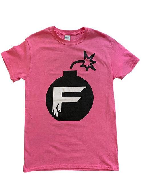 Pink F Bomb T-shirt
