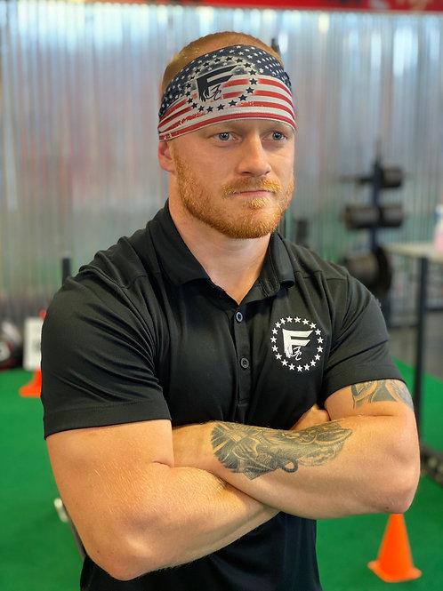 JUNK American Flag Headband