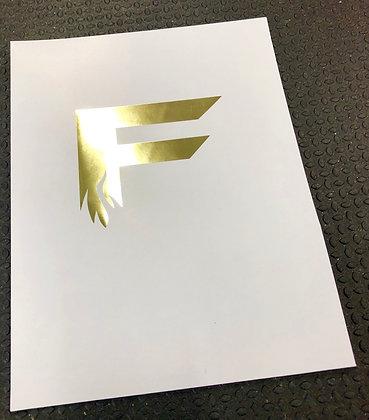 Gold Foil Success Folders (50 ct.)