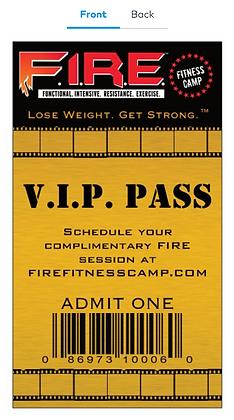 VIP PASS Cards (500 ct.)