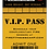 Thumbnail: VIP PASS Cards (500 ct.)