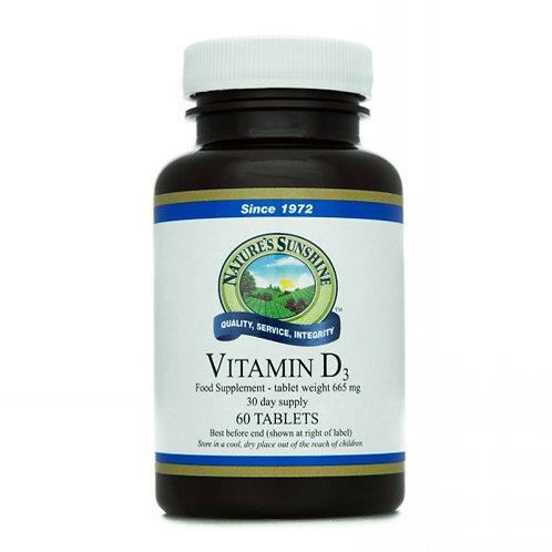 Vitamin D - The sunshine vitamin.