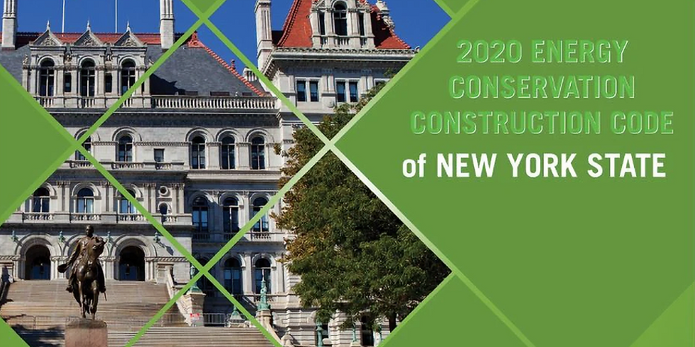 2020 ECCCNYS for Residential Buildings: Overview