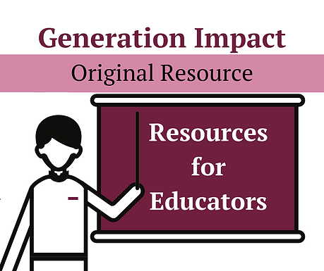 Resources for Educators