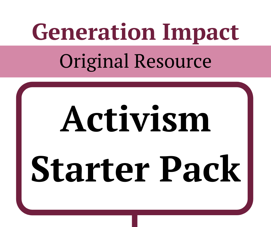 Activism Starter Pack