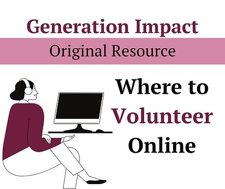 Online volunteering